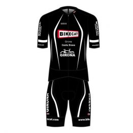 Bikecat black cycling kit