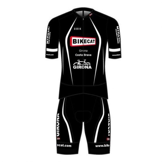 Bikecat black cycling kit