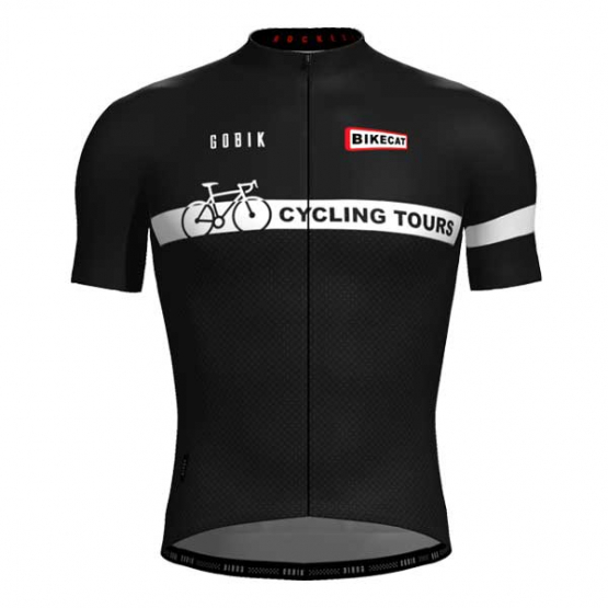 Bikecat Cycling Tours jersey - men - front view