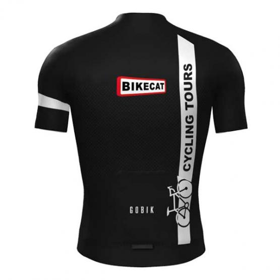 Bikecat Cycling Tours jersey - men - back view