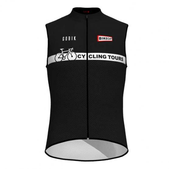 Bikecat Cycling Tours wind vest