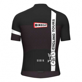 Bikecat Cycling Tours jersey - women - back