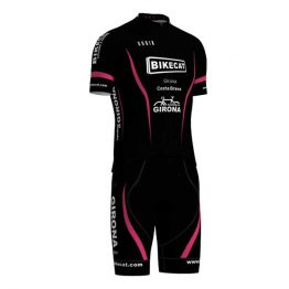 Bikecat women's full cycling kit - black and pink