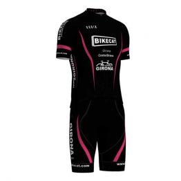 Bikecat women's full cycling kit - black and pink