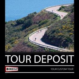 Bikecat Custom Cycling Tours Deposit