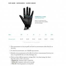 Size Chart - gloves